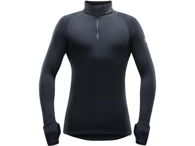 Devold Expedition Sweat-shirt Col roulé avec Zip Homme, black